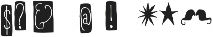 RidemyBike Dingbat Regular otf (400) Font OTHER CHARS