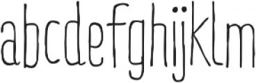 RidemyBike Essential otf (400) Font LOWERCASE