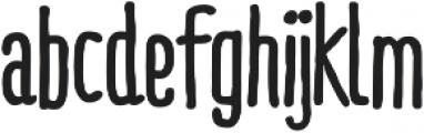RidemyBike Pro Bold otf (700) Font LOWERCASE