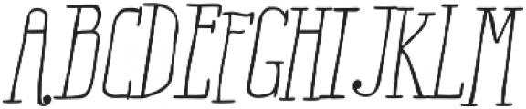 RidemyBike Serif Pro otf (400) Font UPPERCASE