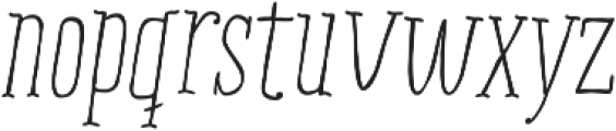 RidemyBike Serif Pro otf (400) Font LOWERCASE