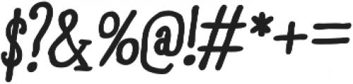 RidemyBike Serif Pro otf (700) Font OTHER CHARS