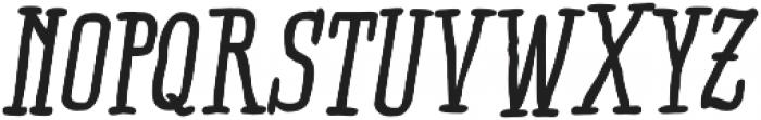 RidemyBike Serif Pro otf (700) Font UPPERCASE