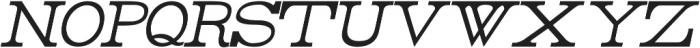 Rider Condensed ttf (100) Font UPPERCASE