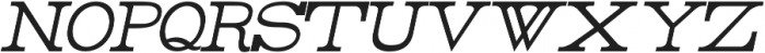 Rider Condensed ttf (100) Font LOWERCASE