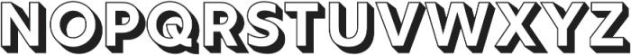 Rig Solid Bold Fill otf (700) Font UPPERCASE