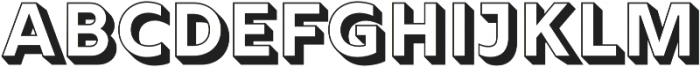 Rig Solid Bold Fill otf (700) Font LOWERCASE