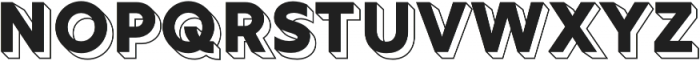 Rig Solid Bold Reverse otf (700) Font LOWERCASE