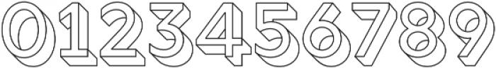Rig Solid Medium Outline otf (500) Font OTHER CHARS