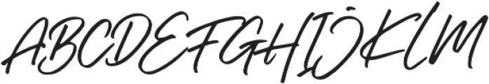 Right Gilligant Font otf (400) Font UPPERCASE