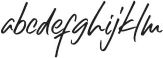 Right Gilligant Font otf (400) Font LOWERCASE