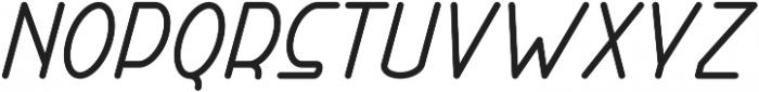 Right Hand Bold Italic otf (700) Font UPPERCASE