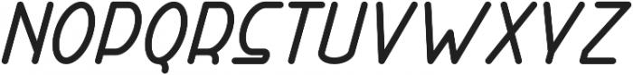 Right Hand Extra Bold Italic otf (700) Font LOWERCASE