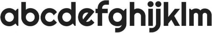 Righteous Regular otf (400) Font LOWERCASE