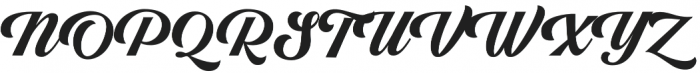 Righton Script otf (400) Font UPPERCASE