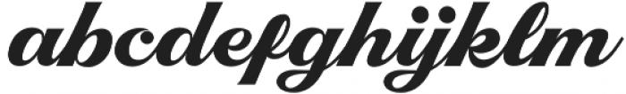 Righton Script otf (400) Font LOWERCASE