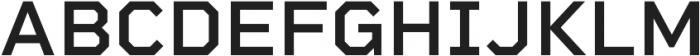 Rigid Square SemiBold otf (600) Font UPPERCASE