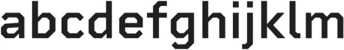 Rigid Square SemiBold otf (600) Font LOWERCASE