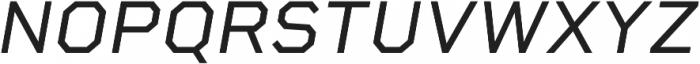 Rigid Square otf (400) Font UPPERCASE