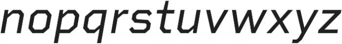 Rigid Square otf (400) Font LOWERCASE