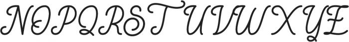 Rigoletto otf (400) Font UPPERCASE