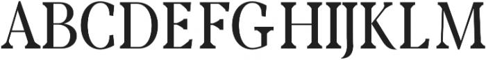 Rikiar regular otf (400) Font UPPERCASE