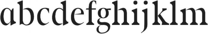 Rikiar regular otf (400) Font LOWERCASE