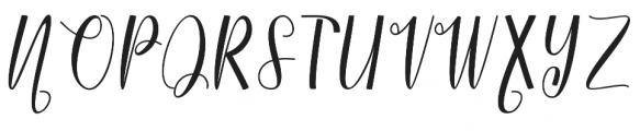 Rimetty otf (400) Font UPPERCASE