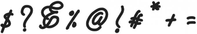 Rimona otf (400) Font OTHER CHARS