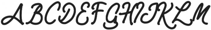 Rimona otf (400) Font UPPERCASE