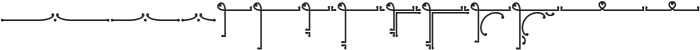 Ringlings Borders & Ornaments otf (400) Font LOWERCASE