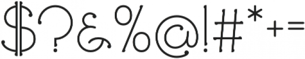 Ringlings otf (400) Font OTHER CHARS