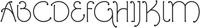 Ringlings otf (400) Font UPPERCASE