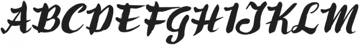 Ringotube Italic otf (400) Font UPPERCASE