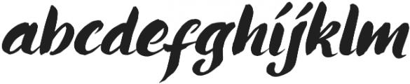 Ringotube Italic otf (400) Font LOWERCASE