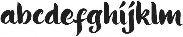 Ringotube otf (400) Font LOWERCASE