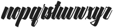 Ringstone otf (400) Font LOWERCASE
