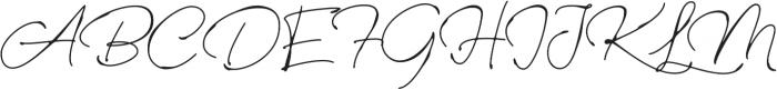 Rinstonia otf (400) Font UPPERCASE