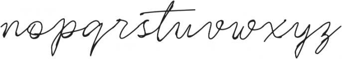 Rinstonia otf (400) Font LOWERCASE