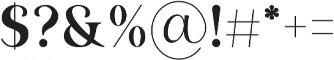 Ripon otf (400) Font OTHER CHARS