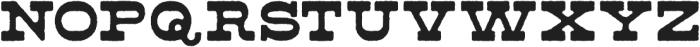 Ripshot Slab Inked otf (400) Font LOWERCASE