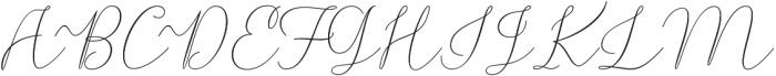 Rishella Bold Bold otf (700) Font UPPERCASE