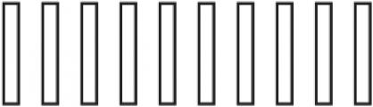 Rising Brush swash otf (400) Font OTHER CHARS