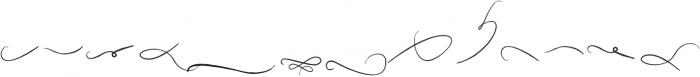 Rising Brush swash otf (400) Font LOWERCASE
