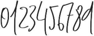 Rising Moon Regular 01 otf (400) Font OTHER CHARS