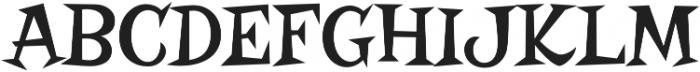 Risque Pro Regular otf (400) Font UPPERCASE