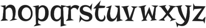 Risque Pro Regular otf (400) Font LOWERCASE