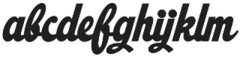 Ristella otf (400) Font LOWERCASE