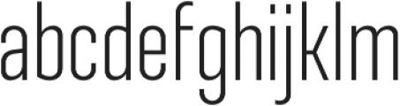 Ristretto Pro Light otf (300) Font LOWERCASE