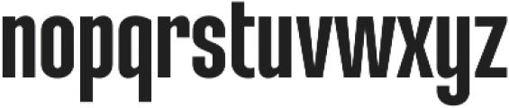 Ristretto Pro otf (700) Font LOWERCASE